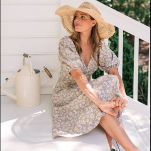 NEW Rebecca Taylor La Vie Floral dress
